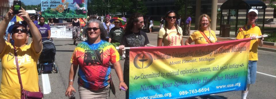 UUFCM at miPride Parade 2014