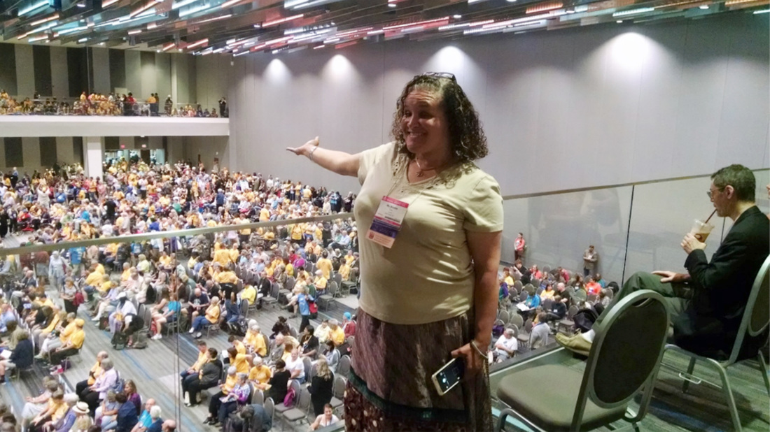 Board President Annette Pratt at GA2016